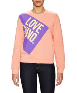 Love Moschino | Logo Printed Sweater