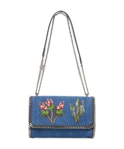 Stella McCartney | Falabella Denim Small Flap Shoulder Bag