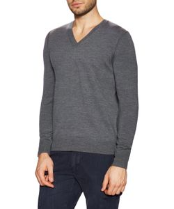 Burberry Brit | Wool Elbow Patch V-Neck Sweater