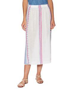 Lemlem | Wubit Cotton Embroide Midi Skirt