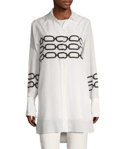 Max Mara | Flores Chain Printed Shirtdress