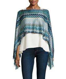 Missoni | Crochet Fringe Trimmed Poncho