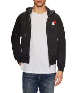 Moncler | Logo Patch Zip Front Hoodie