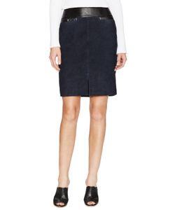 Ohne Titel | Suede A-Line Skirt