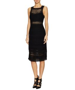 Ohne Titel | Crochet Sleeveless Sheath Dress