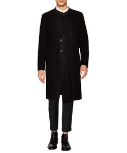 General Idea | Mandarin Collar Wool Coat