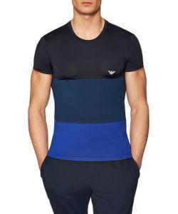 Emporio Armani | Crewneck Colorblock T-Shirt