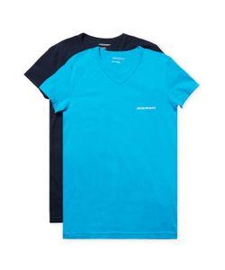 Emporio Armani | Solid Crewneck T-Shirt 2 Pk