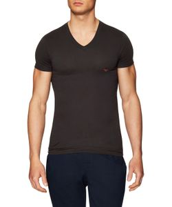 Emporio Armani | Knit V-Neck T-Shirt