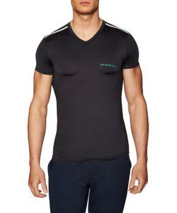 Emporio Armani | Knit V-Neck T-Shirt