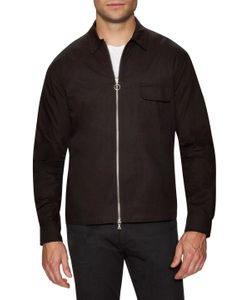 Timo Weiland | Zip Front Long Sleeve Shirt