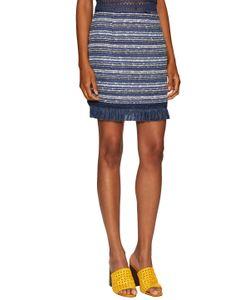 Timo Weiland | Fringed Bandage Skirt