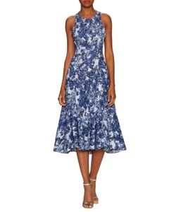 Timo Weiland | Cotton Cut Out Fit And Flare Dress