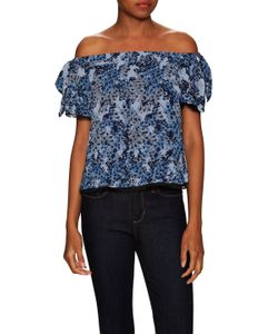 Timo Weiland | Silk Off The Shoulder Top