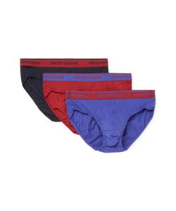 Emporio Armani | Colored Basic Stretch Brief 3 Pk
