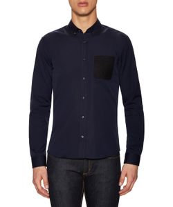 Hugo Hugo Boss | Enico Cotton Soft Patch Sport Shirt