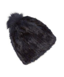 Jocelyn | Mink Fur Pom Hat
