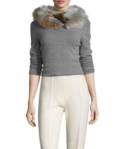 Jocelyn | The Zermatt Fox Fur Infinity Scarf 28 X 5