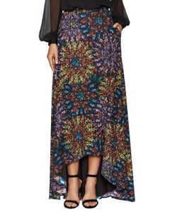 Badgley Mischka | Stained Glass Print High Low Skirt