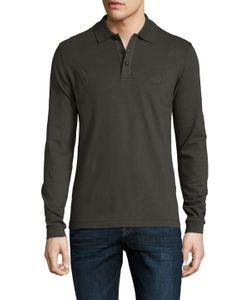 Armani Collezioni | Solid Spread Collar Polo Shirt