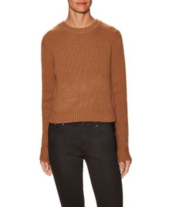 A.L.C. | Heather Wool Ribbed Sweater