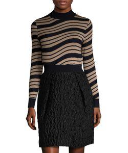 Carven | Wool Wave Stripe Sweater