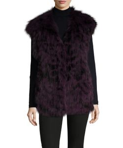 Meteo By Yves Salomon | Gilet Fur Cap Sleeve Vest