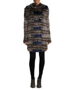 Yves Salomon | Dyed Fur Coat