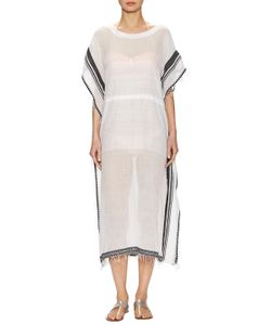 Lemlem | Nadia Side Split Flutter Caftan Dress