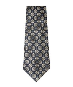 Chanel | Vintage Navy Wheel Silk Jacquard Tie