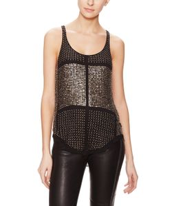 Isabel Marant | Peachy Silk Brass Embellished Top