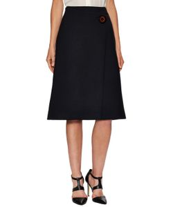 Salvatore Ferragamo | Button Detailed Skirt