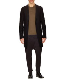 Rick Owens | Virgin Wool Buttoned Coat