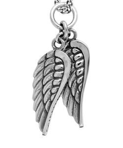 King Baby | Double Wing Pendant Necklace