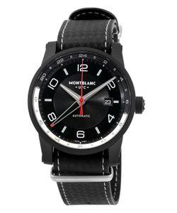 Montblanc   Mont Blanc Timewalker Urban Speed Dlc-Coated Stainless Steel Watch 43mm
