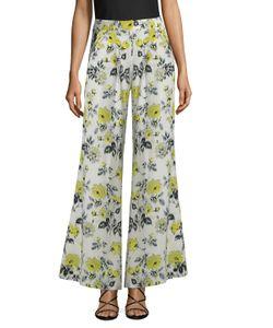Carolina Herrera | Printed Flared Pant