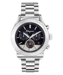 Salvatore Ferragamo | 1899 Guilloche Dial Watch 42mm