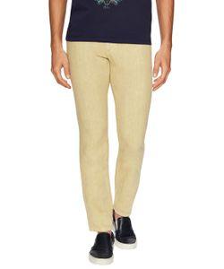 Etro | Linen Solid Slim Jeans