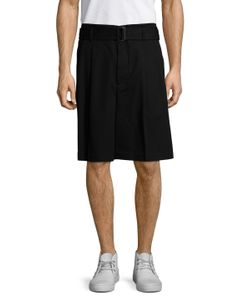 3.1 Phillip Lim | Pleated Buckled Shorts