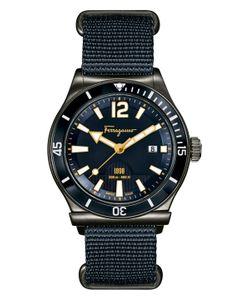 Salvatore Ferragamo | Ferragamo1898 Dial Nylon Strap Watch