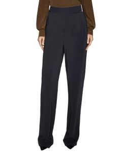 Jason Wu | Solid Crepe Full Leg Pan