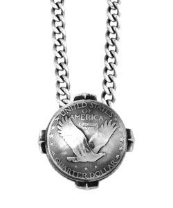King Baby | Liberty Quarter Dollar Pendant Necklace