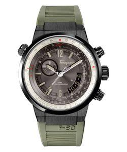 Salvatore Ferragamo | F-80 Stainless Steel Dial Watch 43.5mm