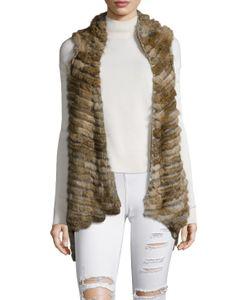Jocelyn   Rabbit Layers Asymmetrical Vest