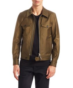 Tom Ford | Pleated Cotton Jacket