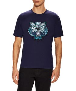 Kenzo | Embroidered Tiger T-Shirt
