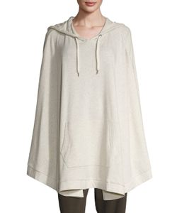 Grey State   Jess Cotton Hooded Cape