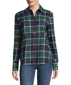 Derek Lam 10 Crosby | Plaid Button Up Shirt