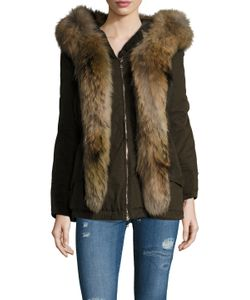 Moncler | Fur Trim Front Jacket
