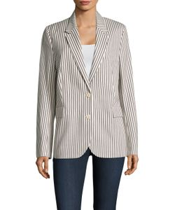 Paul Smith | Stripe Notch Collar Jacket